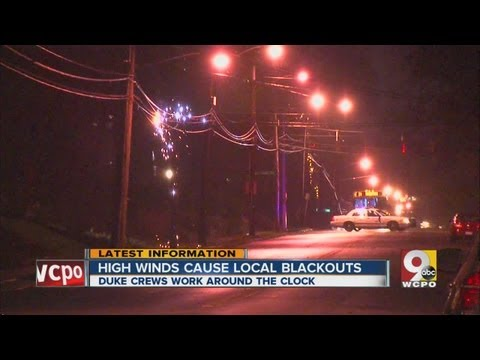 High winds, winter weather cause thousands of power outages across Greater Cincinnati