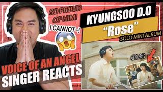 D O 디오 Rose Mv Singer Reaction