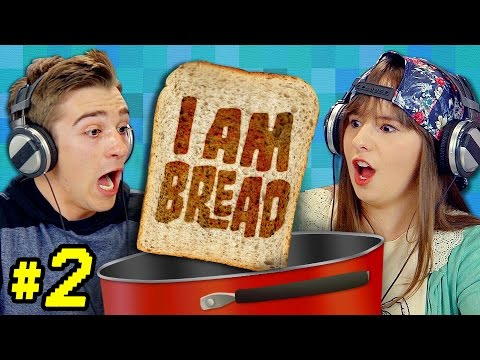 I AM BREAD #2 (Teens React: Gaming)