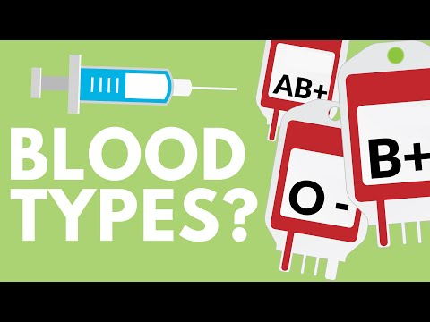If Blood Is Plasma + Blood Cells, Why Are Blood Types Different?