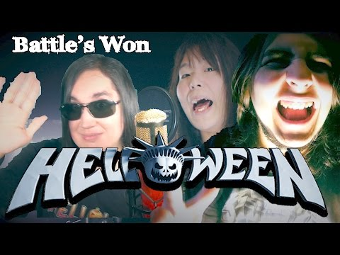 """Helloween - Battle's Won """"ft. FRIENDS, covered by Fuhito Nakamura"""" (HALLOWEEN SPECIAL)"""