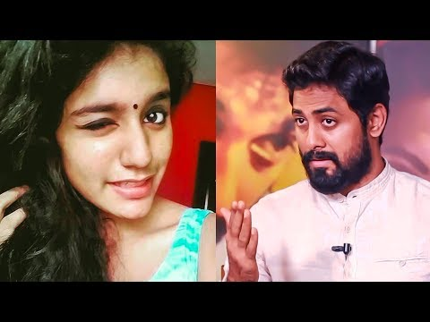 Politics behind Priya Varrier Viral Video | Aari Opens Up