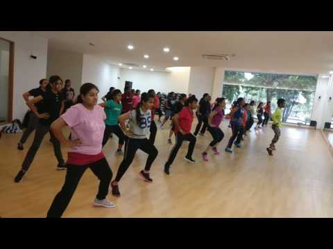 Sahore bahubali || bahubali 2 || zumba dance fitness || choreography by Siva Vallabhaneni