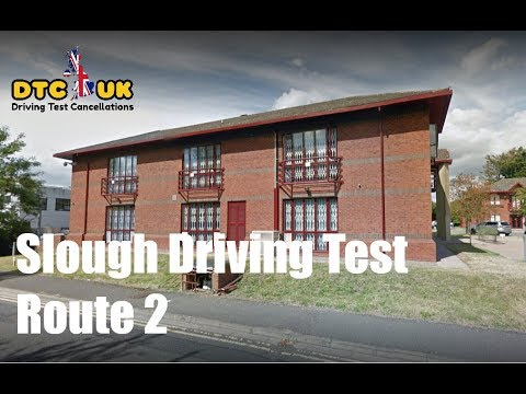 Langley Slough Test Driving Route 2 | DTC-UK | Driving Test UK
