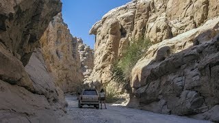Sandstone Canyon is one of the only slot canyons in Anza-Borrego th...