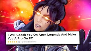 I hired a Pro Apex Legends Coach on Fiverr and pretended to be a Beginner Bangalore/Wraith