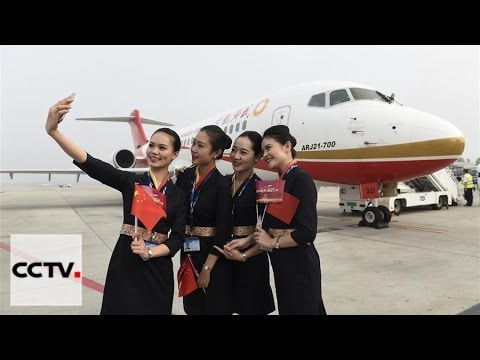 ARJ21 makes maiden commercial flight from Chengdu to Shangha