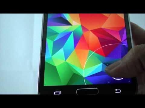 Samsung Galaxy S5 SM G900F   Finger scan   ทดสอบลายนิ้วมือบนซัมซุงแกแล็คซี่เอสห้า