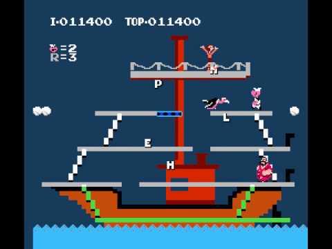NES Longplay [053] Popeye