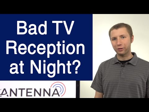 Lose TV Stations At Night? This Common Item Interferes With TV Reception