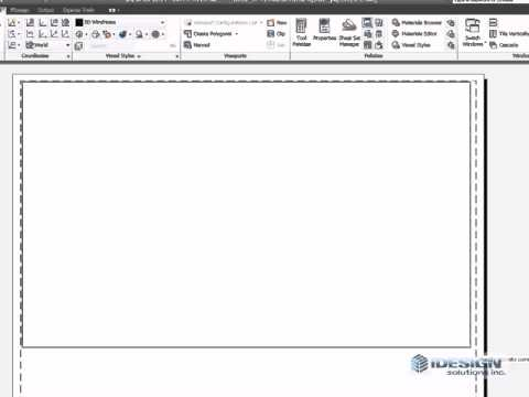 how to get out of paper space in autocad