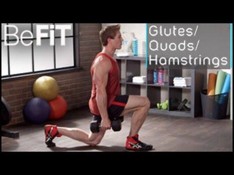 Lower Body Workout: Glutes, Quads & Hamstrings- Scott Herman