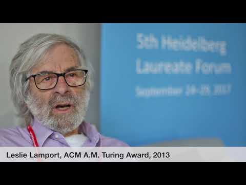 Laureate interviews at the 5th HLF: Leslie Lamport