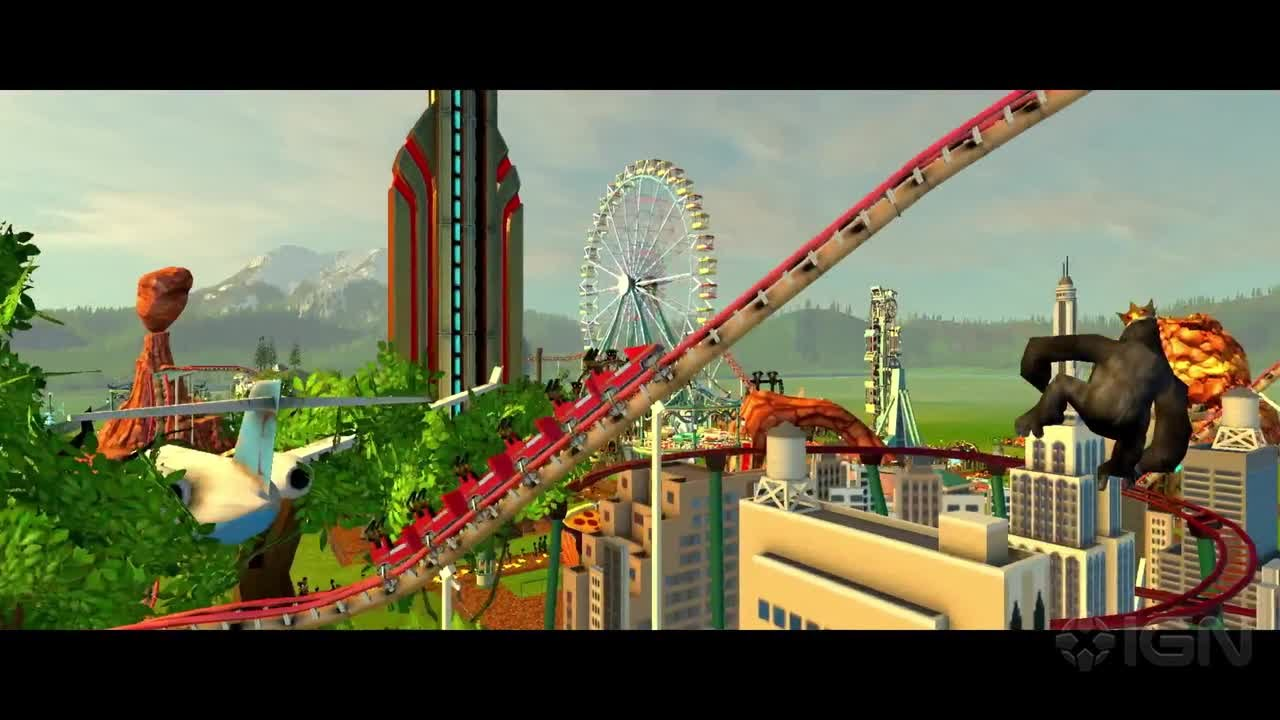 RollerCoaster Tycoon World Gameplay Reveal Teaser