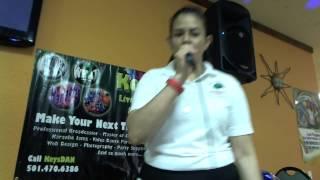 Angie   Me Sacaron Del Tenampa {Karaoke by KeysDAN}