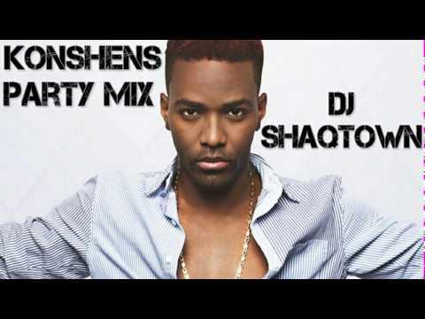 Konshens Party Mix By DJ ShaqTown