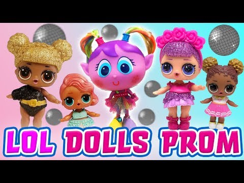 LOL Surprise Dolls and Distroller Alushhhes Prom, Starring Queen Bee and Sugar Queen!