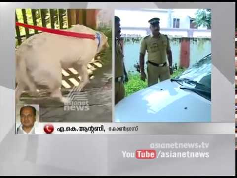 AK Antony's response on Asianet News office attack in Alappuzha