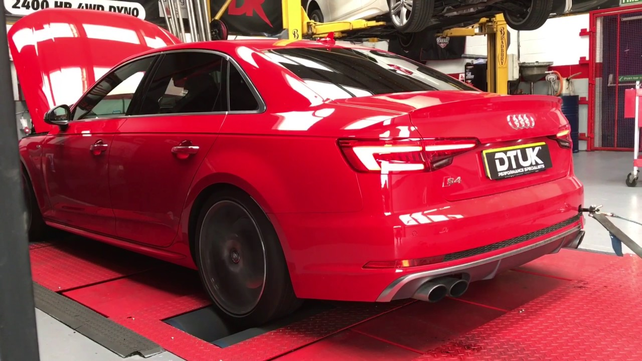 2017 Audi S4 B9 354ps tuned to 407ps