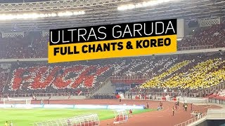 Full Chants dan Koreo Ultras Garuda vs Ultras Malaysia