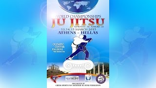 World Championships Ju-Jitsu Athens Hellas - 13 March (LIVE)