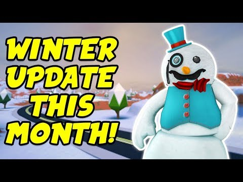 Roblox Jailbreak Live!! WINTER UPDATE THIS MONTH! New Snow Map And Trains?!?   🔴 Roblox Live