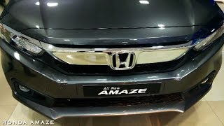 2018 New Honda Amaze Facelift Review including engine, mileage, price, specifications