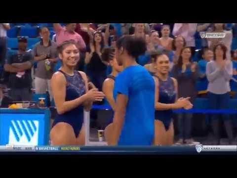 UCLA Gymnast Introduction - 2018 Meet the Bruins