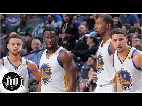 A storm is 'on the horizon' for the Warriors, and here's why | The Jump