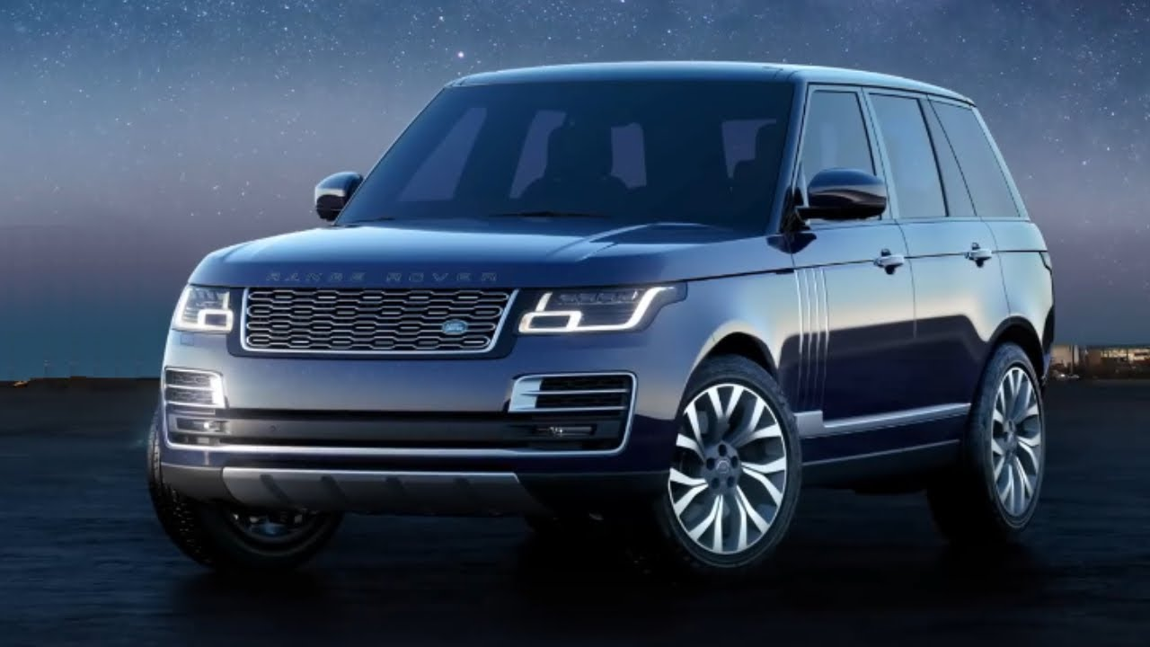 2020 Range Rover Astronaut Edition Unveiled