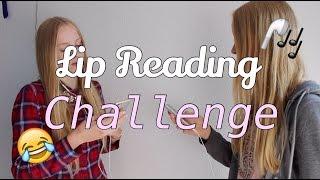 Lip Reading Challenge I Finja and Svea