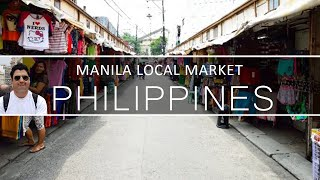 Local Markets in Manila Philippines || China Market of Manila