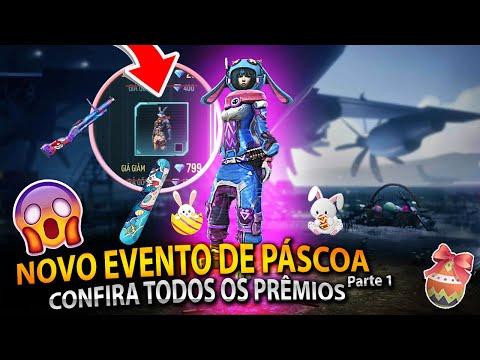 EVENTO DE PÁSCOA - CONFIRA TUDO QUE ESTA CHEGANDO NO NOVO MEGA EVENTO DE PÁSCOA FREE FIRE - PARTE 1!
