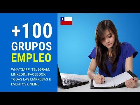 Como conseguir trabajo en Chile (Grupos de Whatsapp empleo) Networking