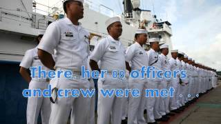 BRP Ramon Alcaraz - the Philippine Navy