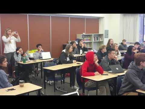 Zach Galant Founder CodeHS teaching Alexa programming to SHC