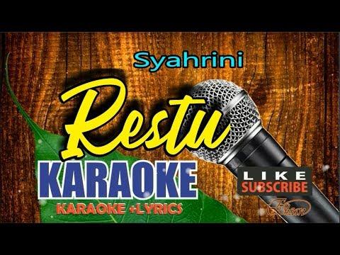 Syahrini - Restu karaoke lirik No Vocal HD