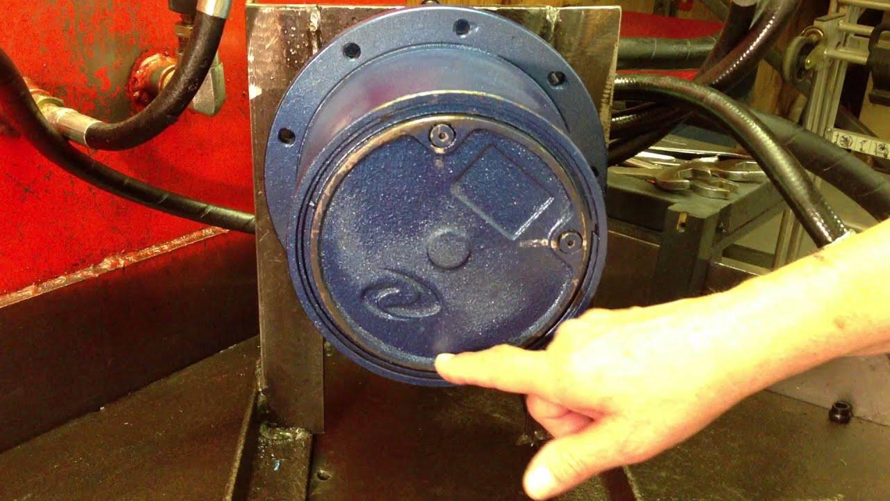 Hitachi Mini Starter Wiring Diagram Excavator Final Drive Motor How To Check Gear Oil Level