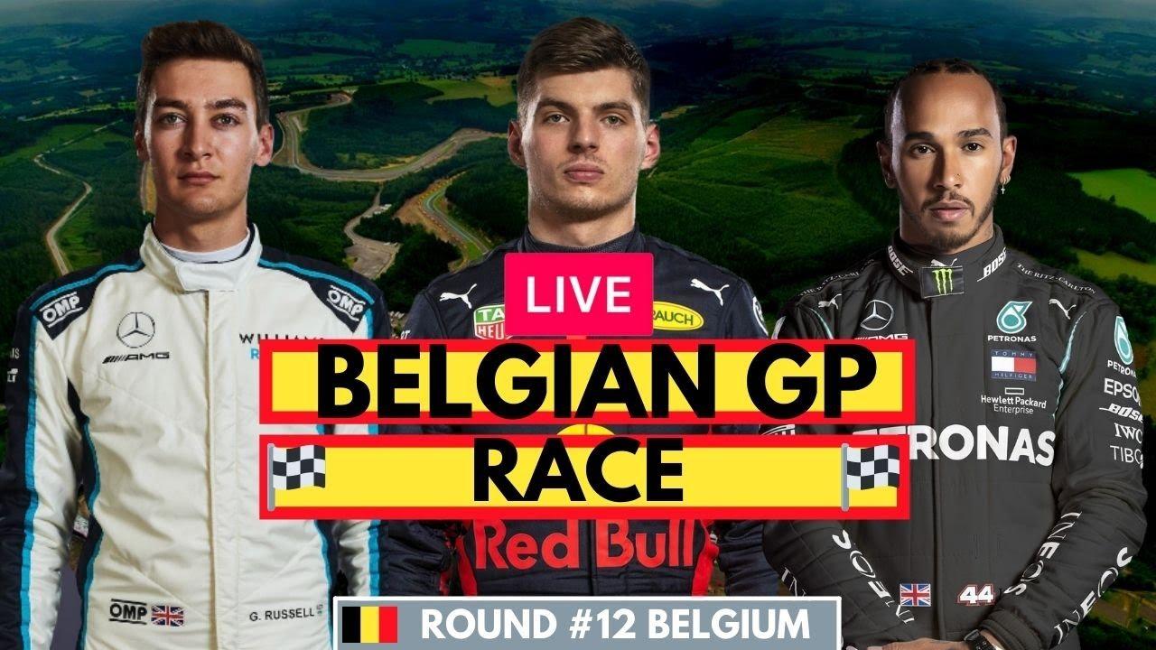 F1 2021 Belgian GP Race   Live Stream   Formula One Watch Along - YouTube