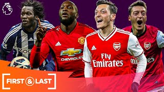 Current SUPERSTARS' First & Last Premier League Goals | Romelu Lukaku, Mesut Ozil & more!