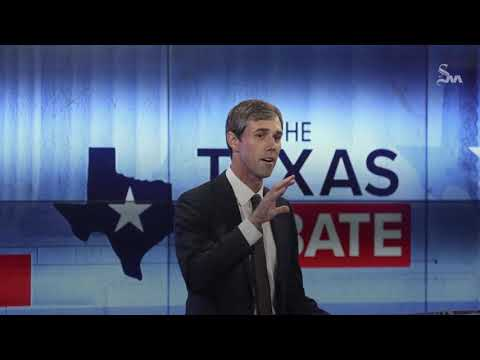 Behind and running out of time, Beto O'Rourke takes off gloves at debate