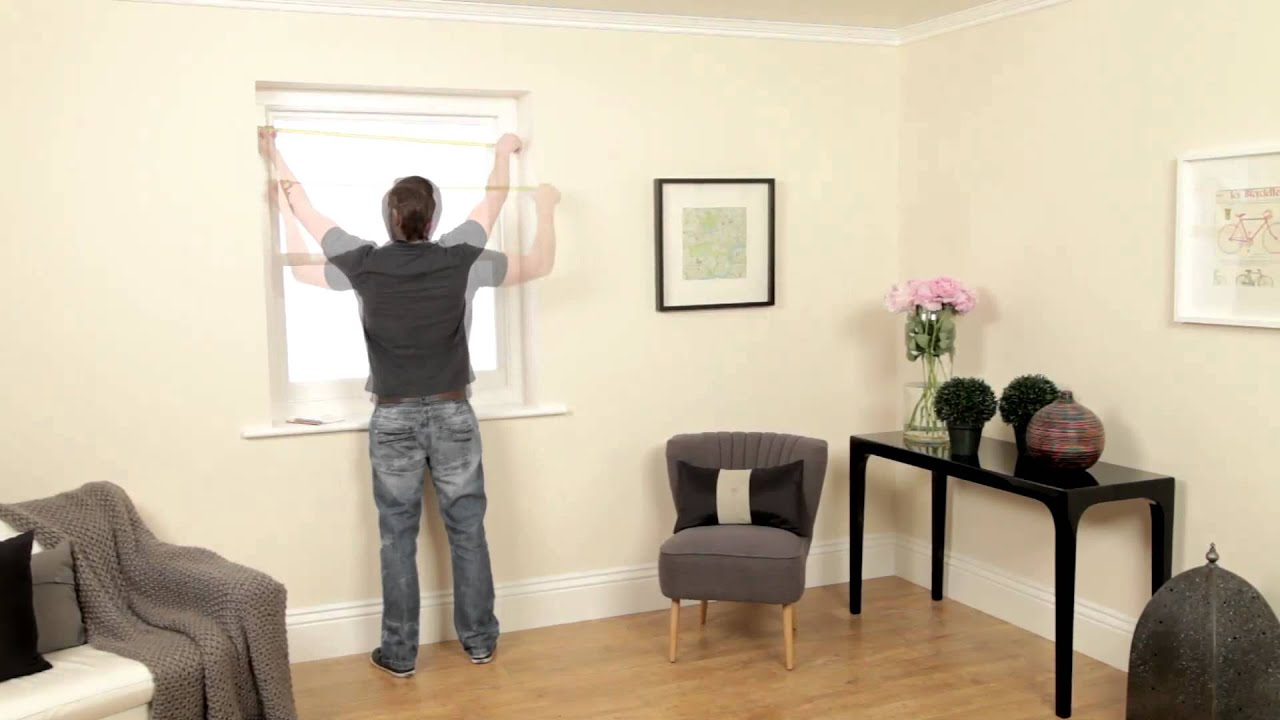 How To Measure A Window For Roman Blinds Roman Blinds Direct Youtube