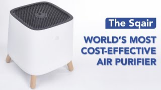 The Sqair: Our Most Cost-Effective Air Purifier
