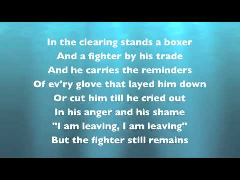 Simon & Garfunkel - The Boxer (with lyrics) - YouTube