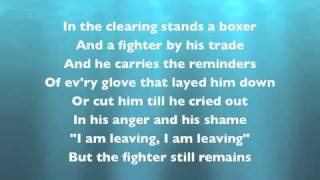 Simon & Garfunkel - The Boxer (with Lyrics)