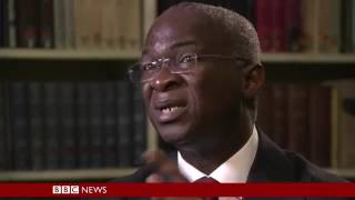 """Super Minister"" Babatunde Fashola Grilled On BBC HardTalk"