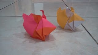 How To Make Origami Bunny Rabbit (hoang Tien Quyet)