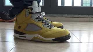 Jordan 5 tokyo on foot