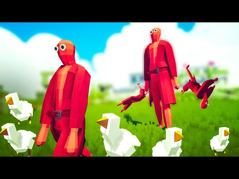 TABS Alpha Remastered - CHICKEN MAN MAN RETURNS to Totally Accurate Battle Simulator!