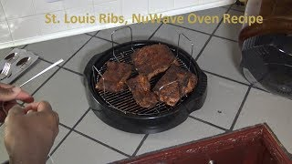 St. Louis Ribs NuWave Oven Recipe